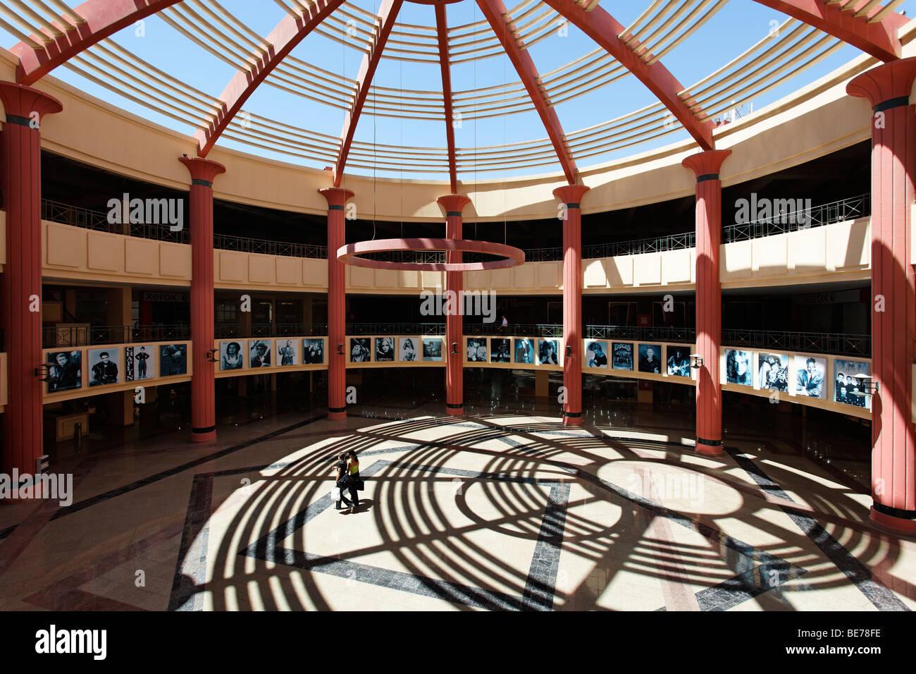 Shopping mall, Esplanade, Yussuf Afifi road, Hurghada, Egypt, Red Sea, Africa - Stock Image