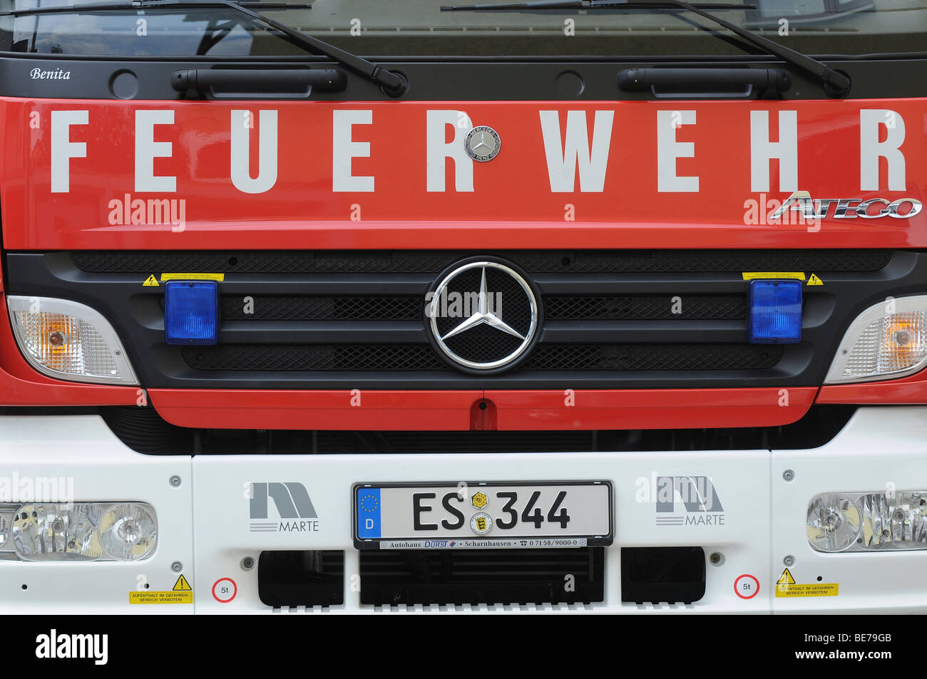 Fire truck - Stock Image