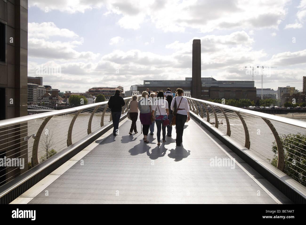 Car Park Close To Millenium Bridge London