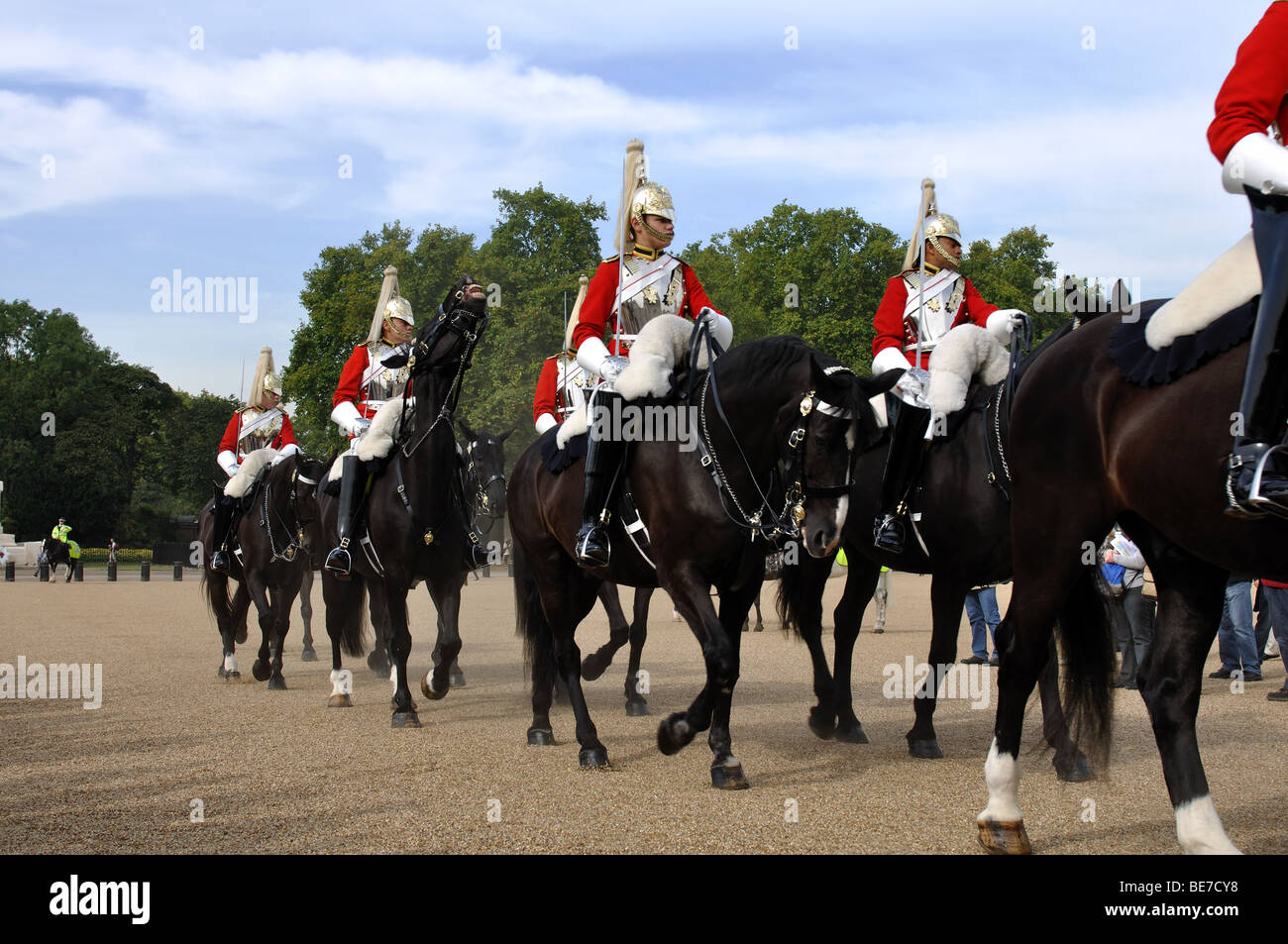 Changing of the Guard, Horse Guards Parade, London, England