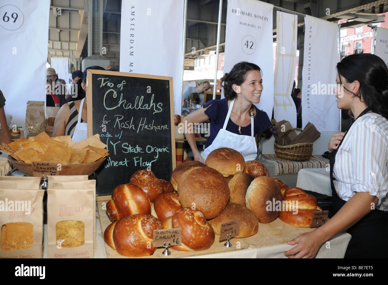 jessamyn waldman founder and director of hot bread kitchen at the new amsterdam market - Hot Bread Kitchen