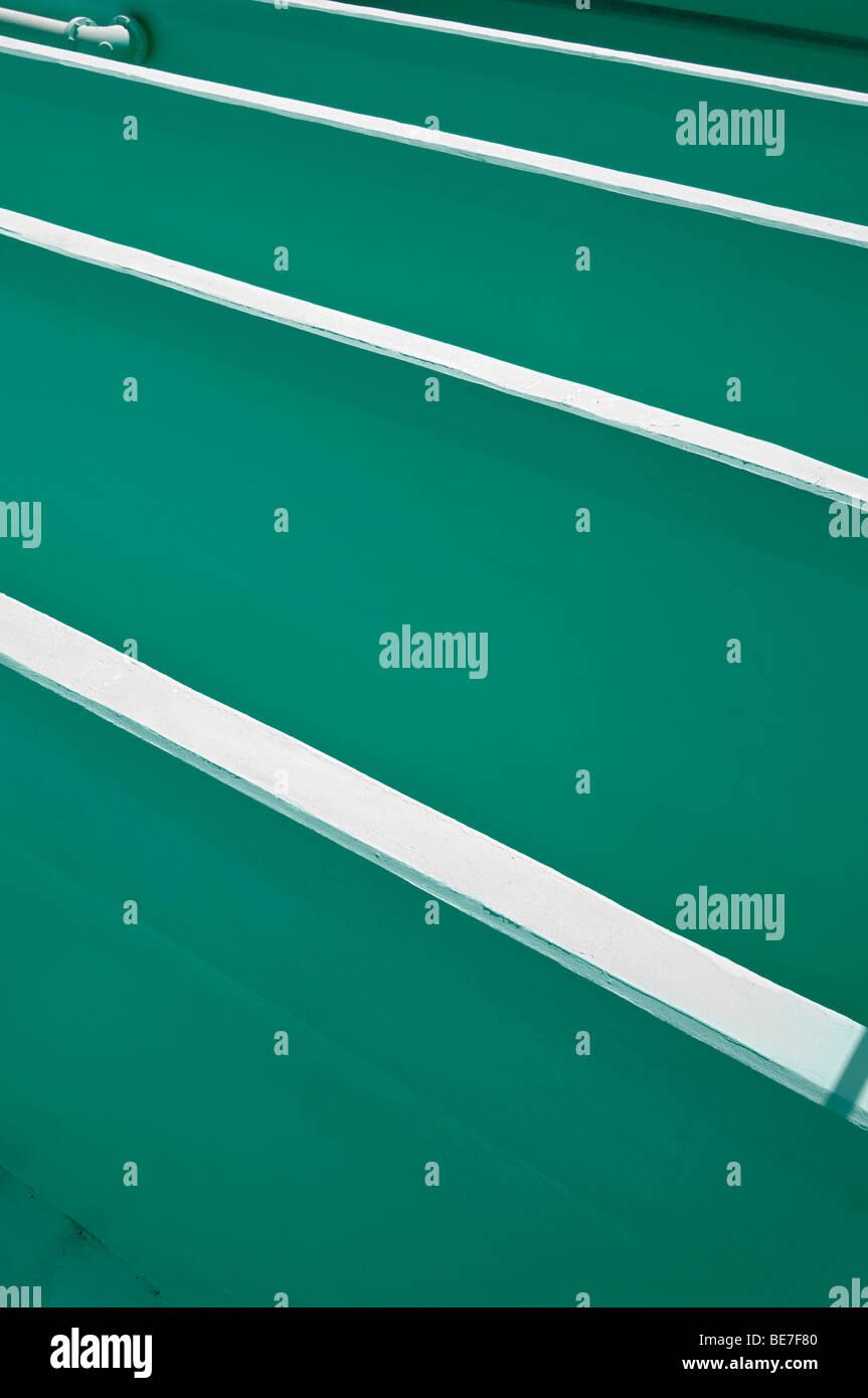 chlorine contact chamber walls Stock Photo