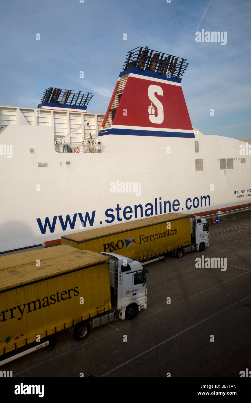 Stena Line, Stena Hollandica ferry, Hook of Holland, Holland