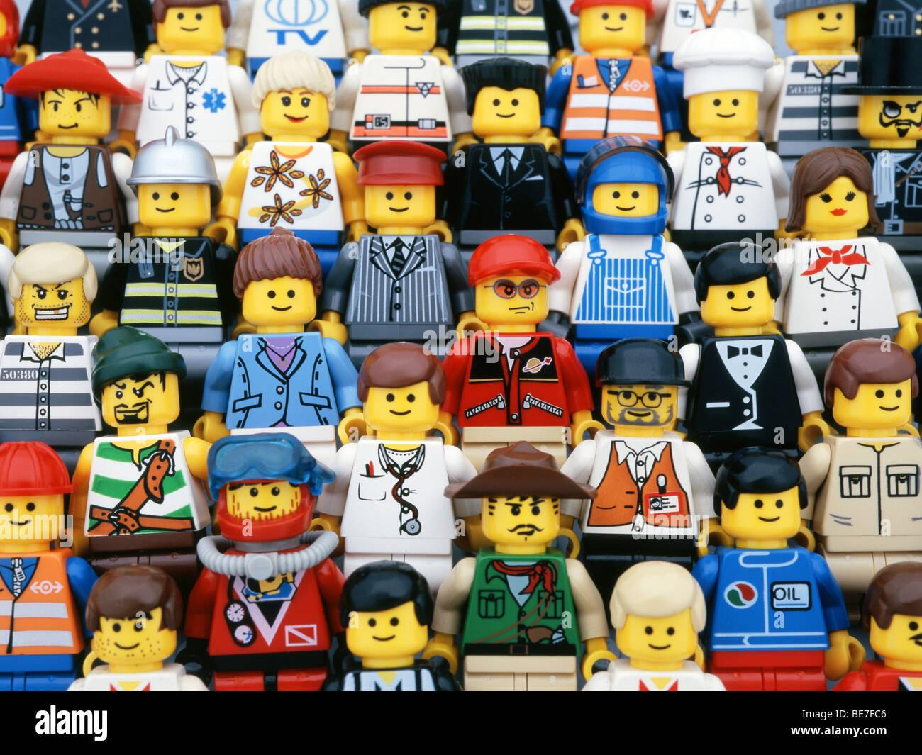 Lego Minifigures - Stock Image