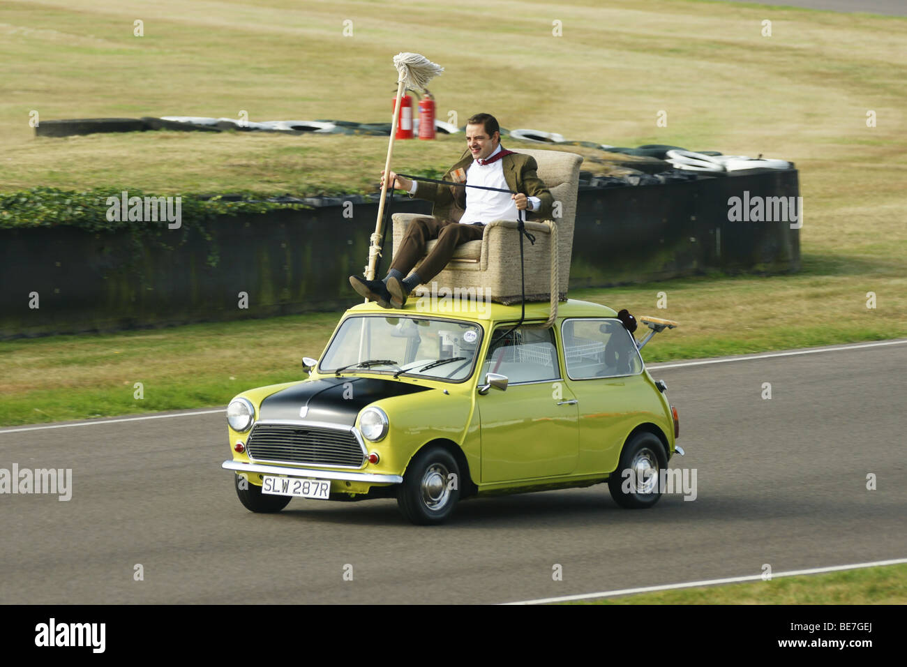Mr bean car stock photos & mr bean car stock images alamy.