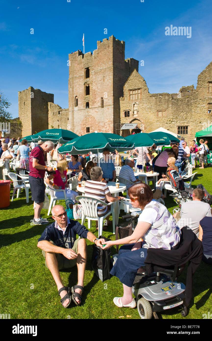Hay On Wye Summer Food Festival