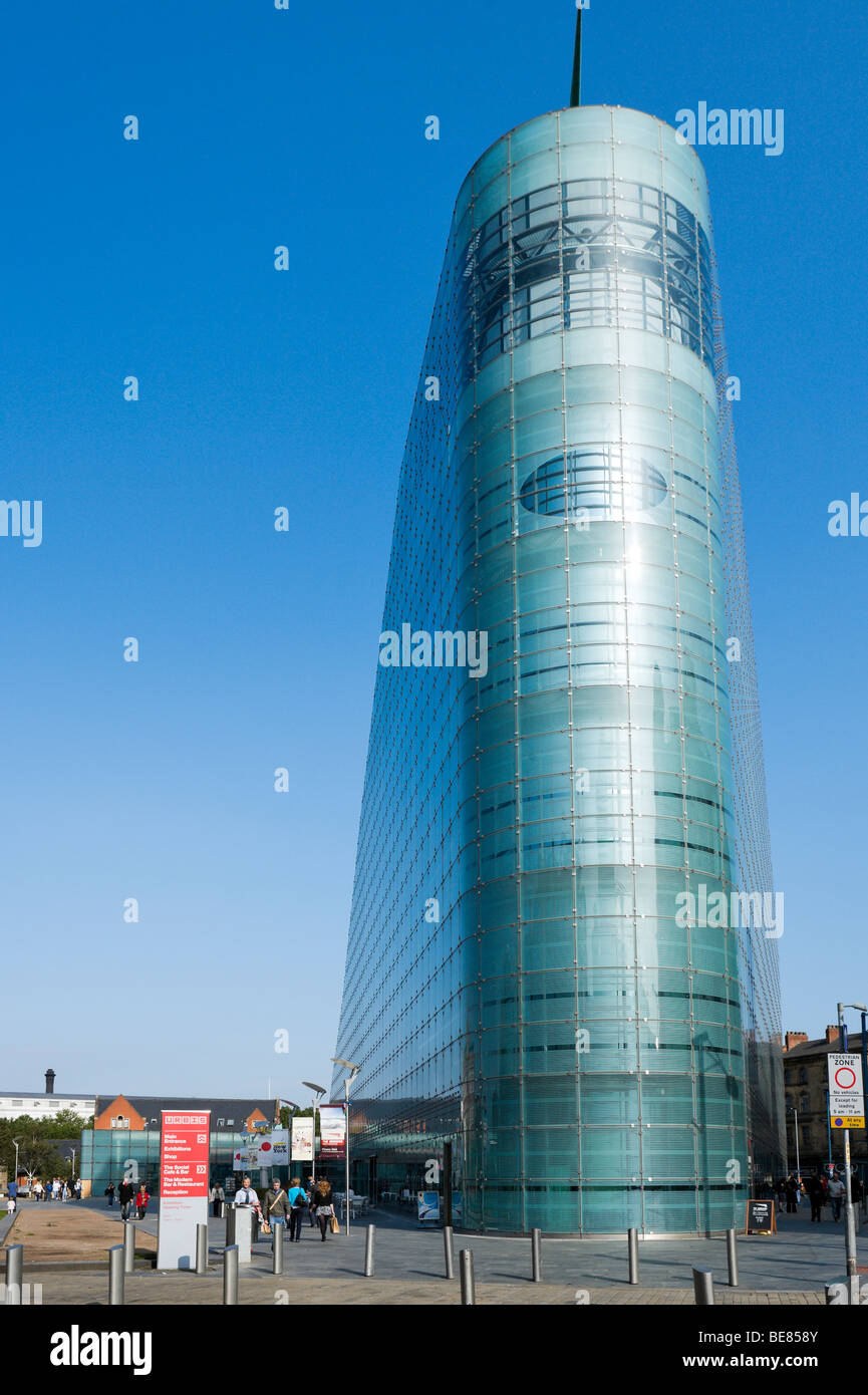 The Urbis Exhibition Centre, Cathedral Gardens, Manchester, England - Stock Image