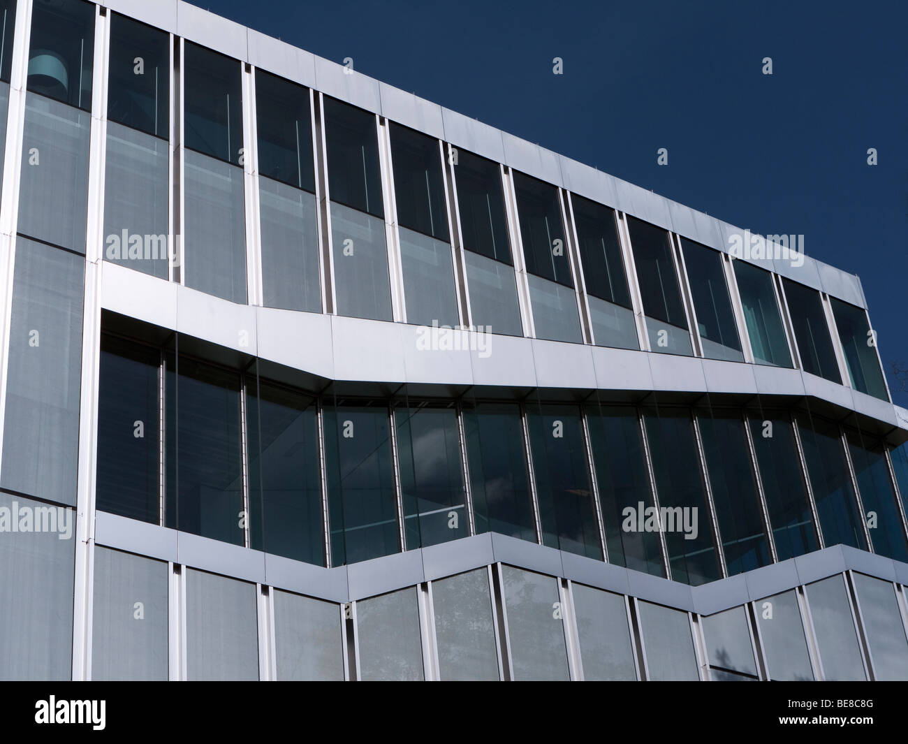 Exterior of Netherlands Embassy designed by Rem Koolhaas in Mitte Berlin Germany - Stock Image