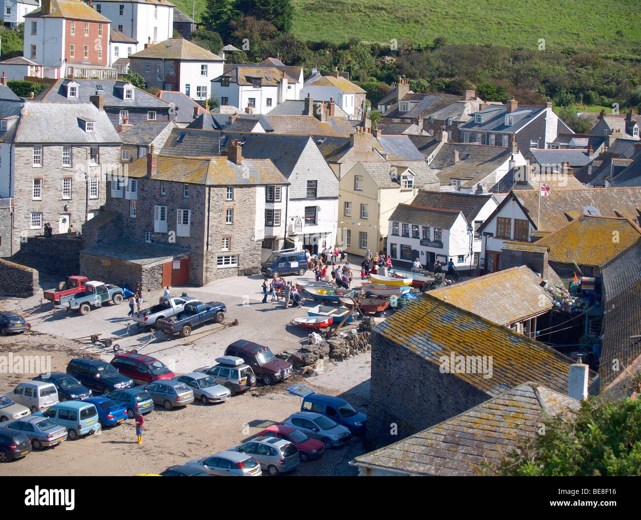 port isaac where the tv show doc martin was filmed and. Black Bedroom Furniture Sets. Home Design Ideas