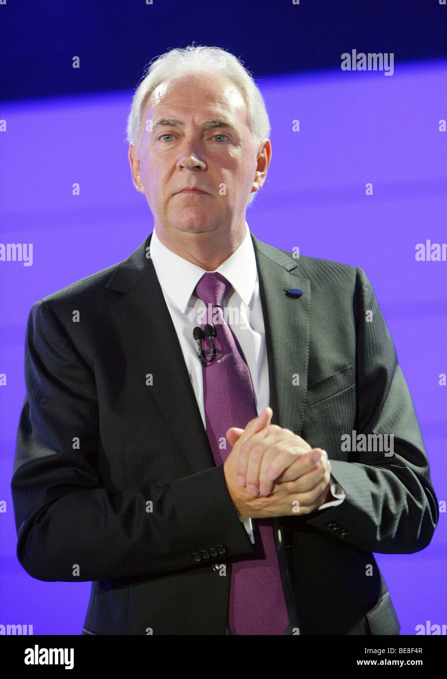 John Fleming, President and CEO Ford of Europe - Stock Image
