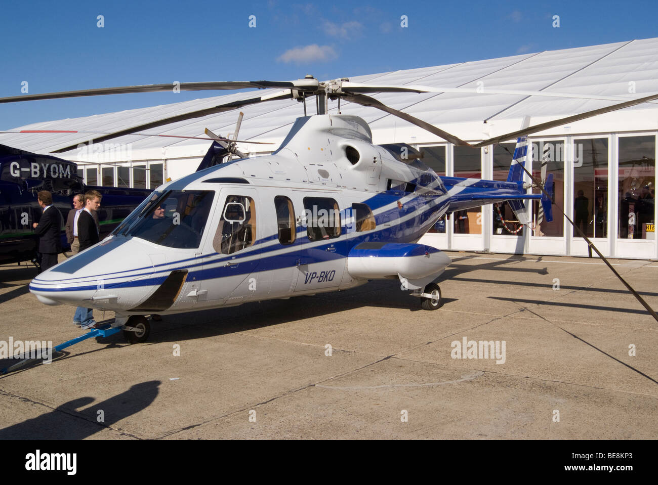 Trade Stands Duxford : Bell helicopters helicopter vp bkq at helitech trade