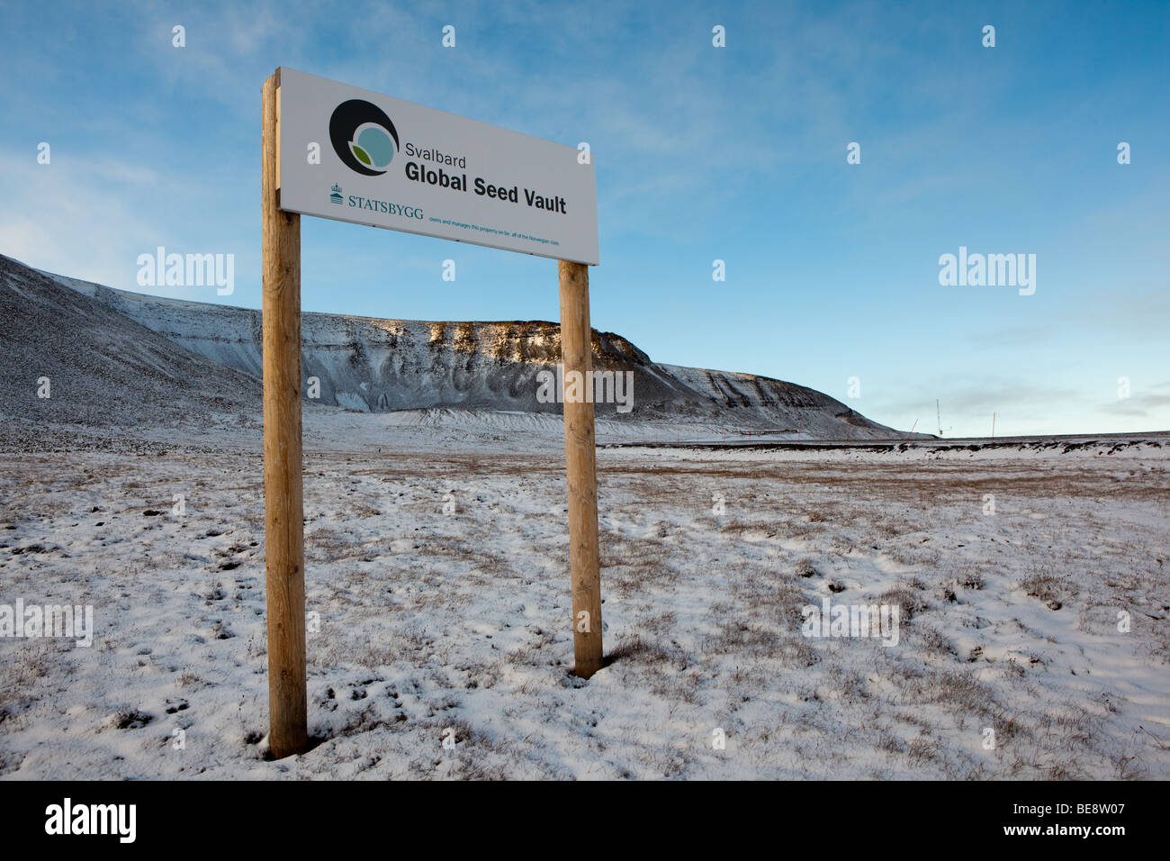 Svalbard Global Seed Vault Or The Doomsday Vault A Repository For