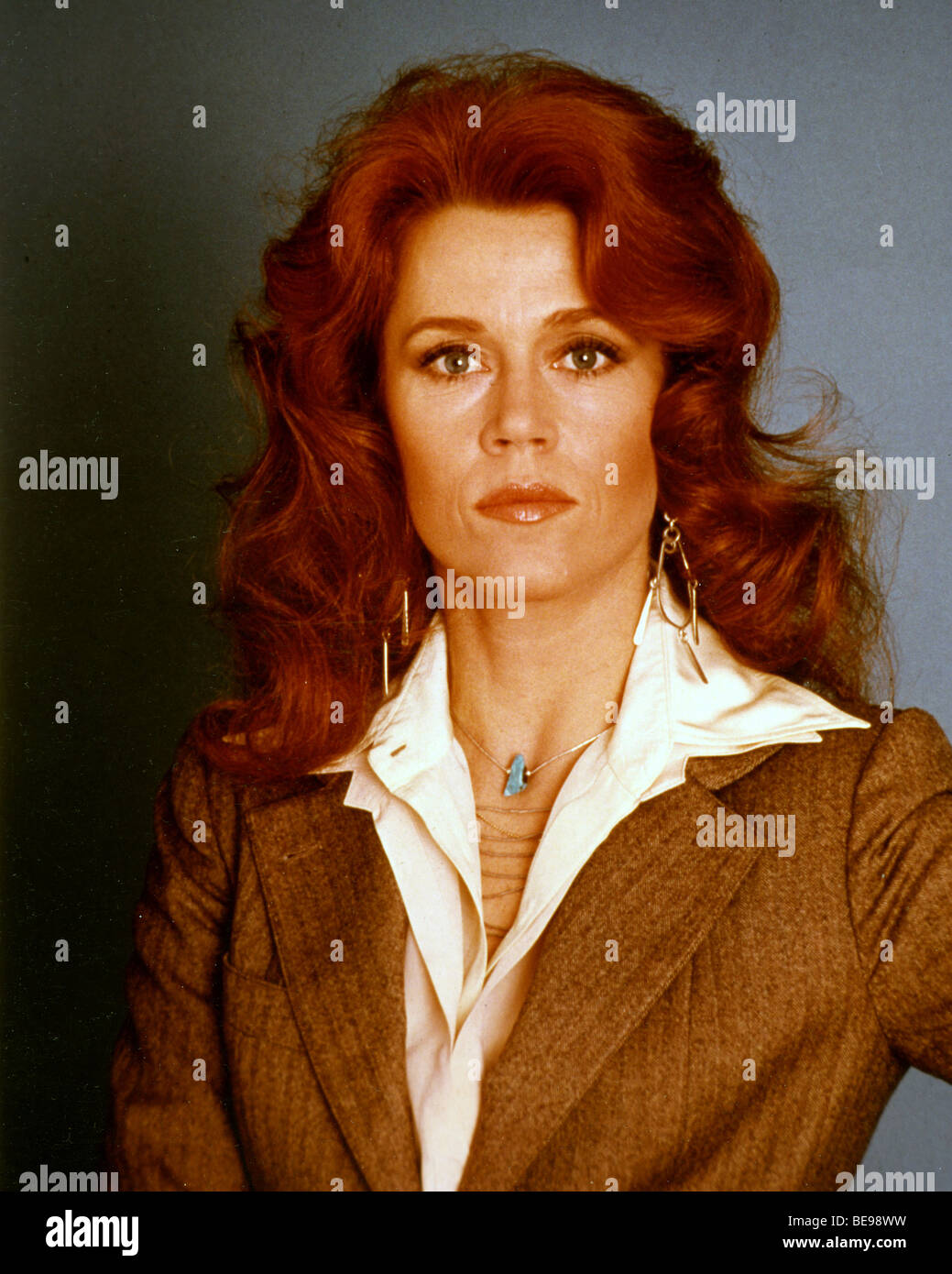 Jane Fonda Us Film Actress About 1979 Stock Photo