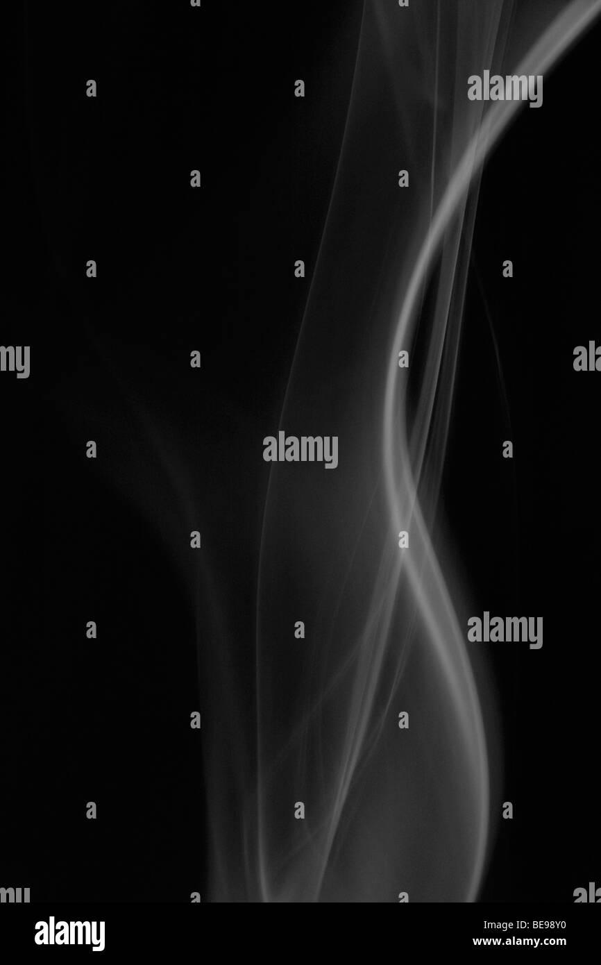 white smoke - Stock Image