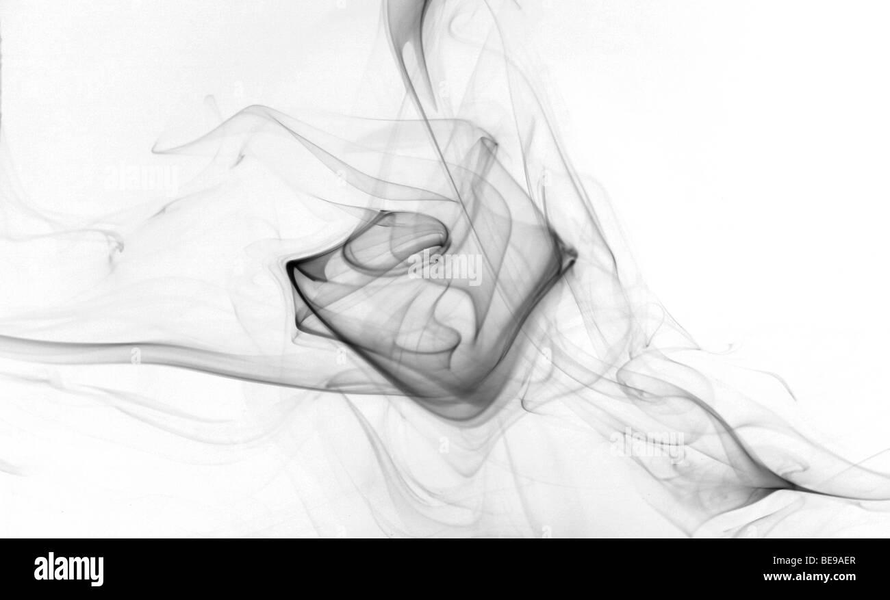 black smoke - Stock Image