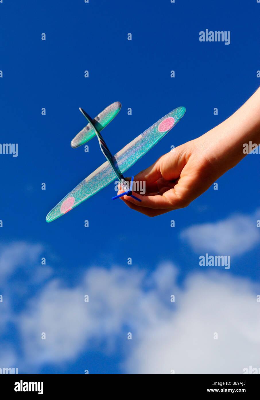 Model Aeroplane - August 2009 - Stock Image