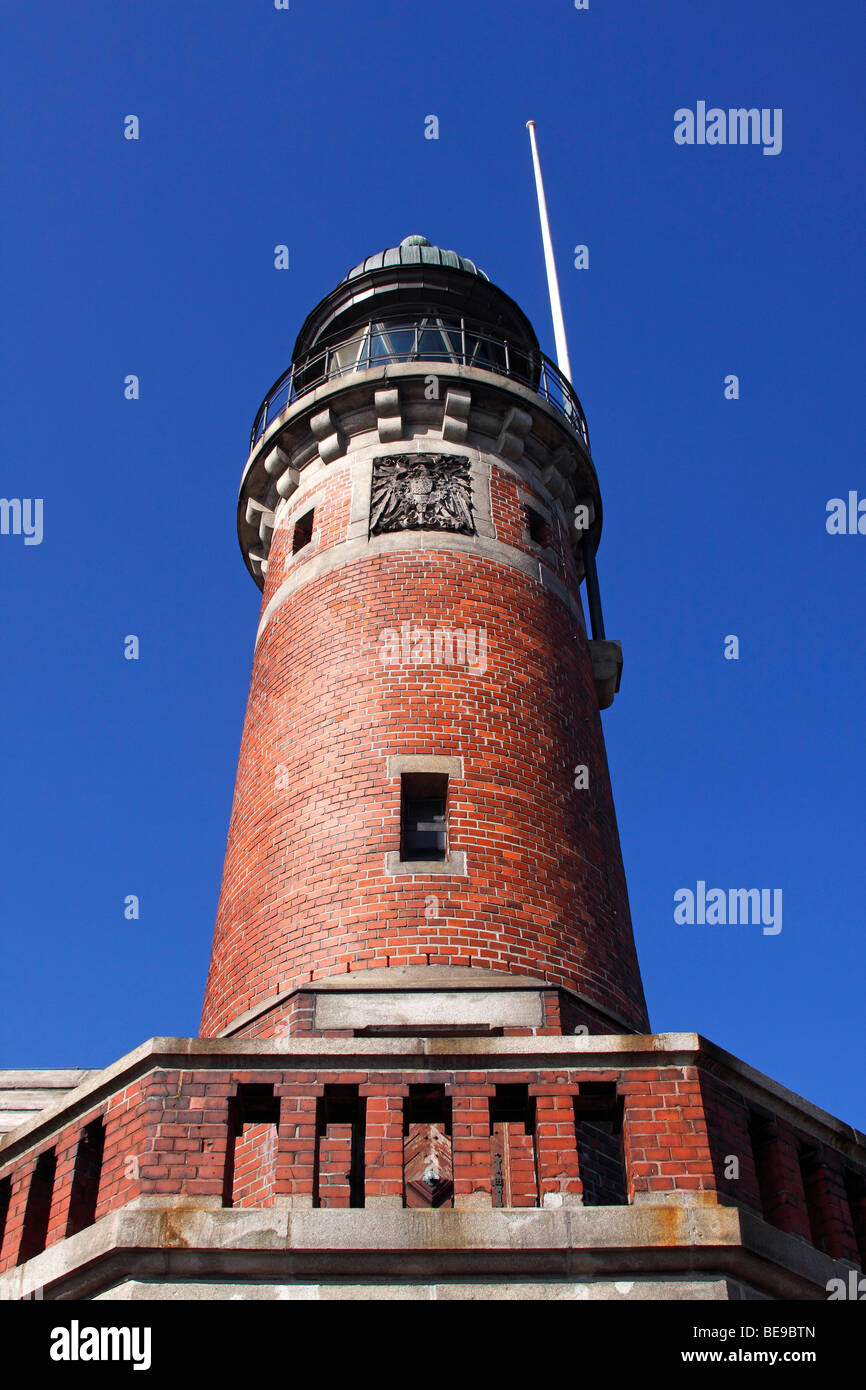 Old lighthouse / Kiel-Holtenau - Stock Image