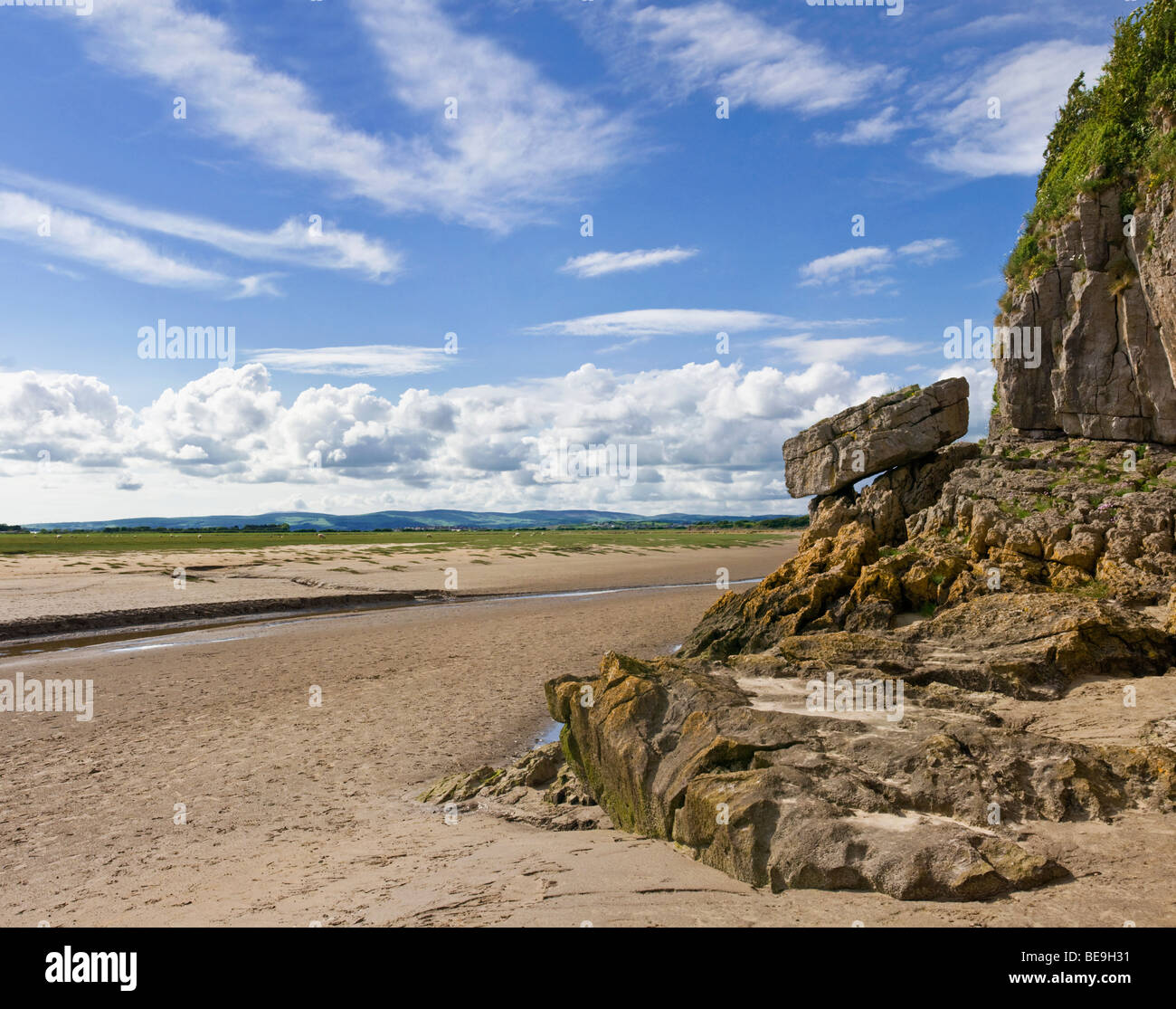 Morecambe Bay Stock Photos and Images