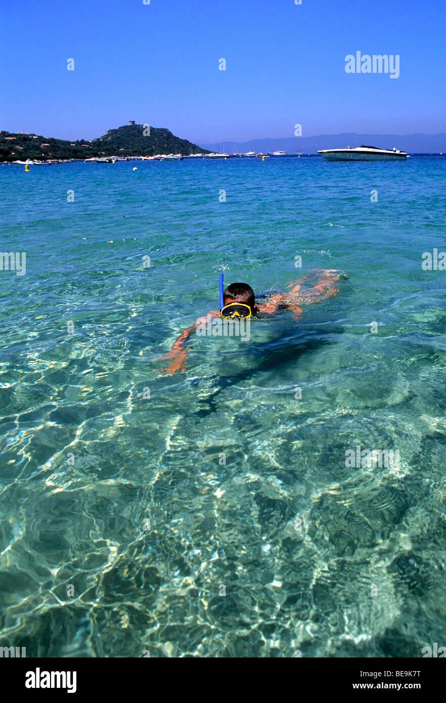 Leisures: Swimming - Stock Image