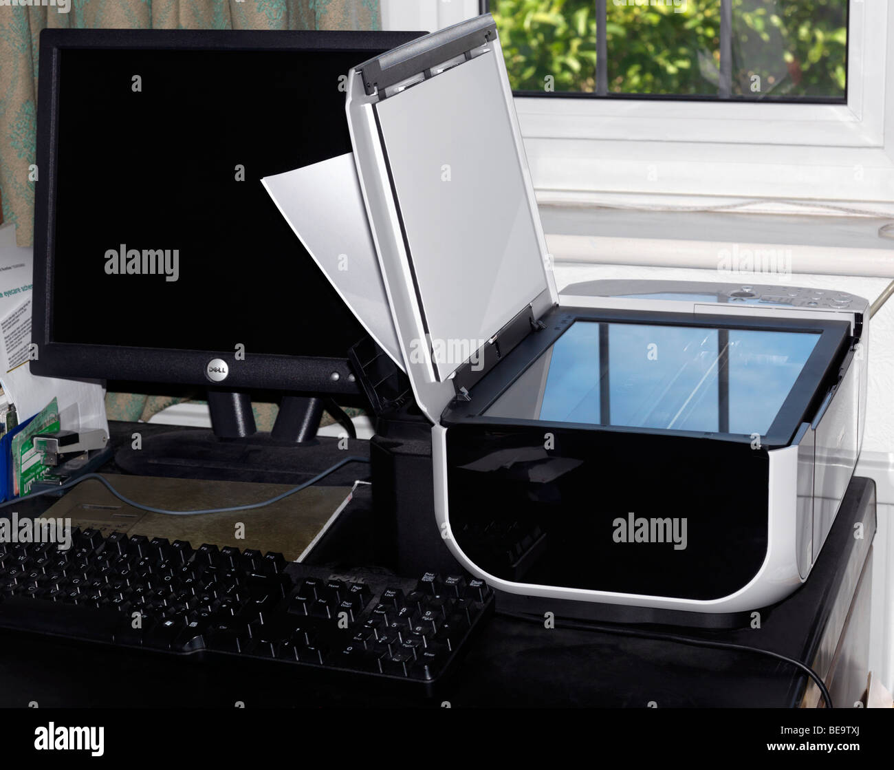 Canon MP 210 all in one scanner copier - Stock Image