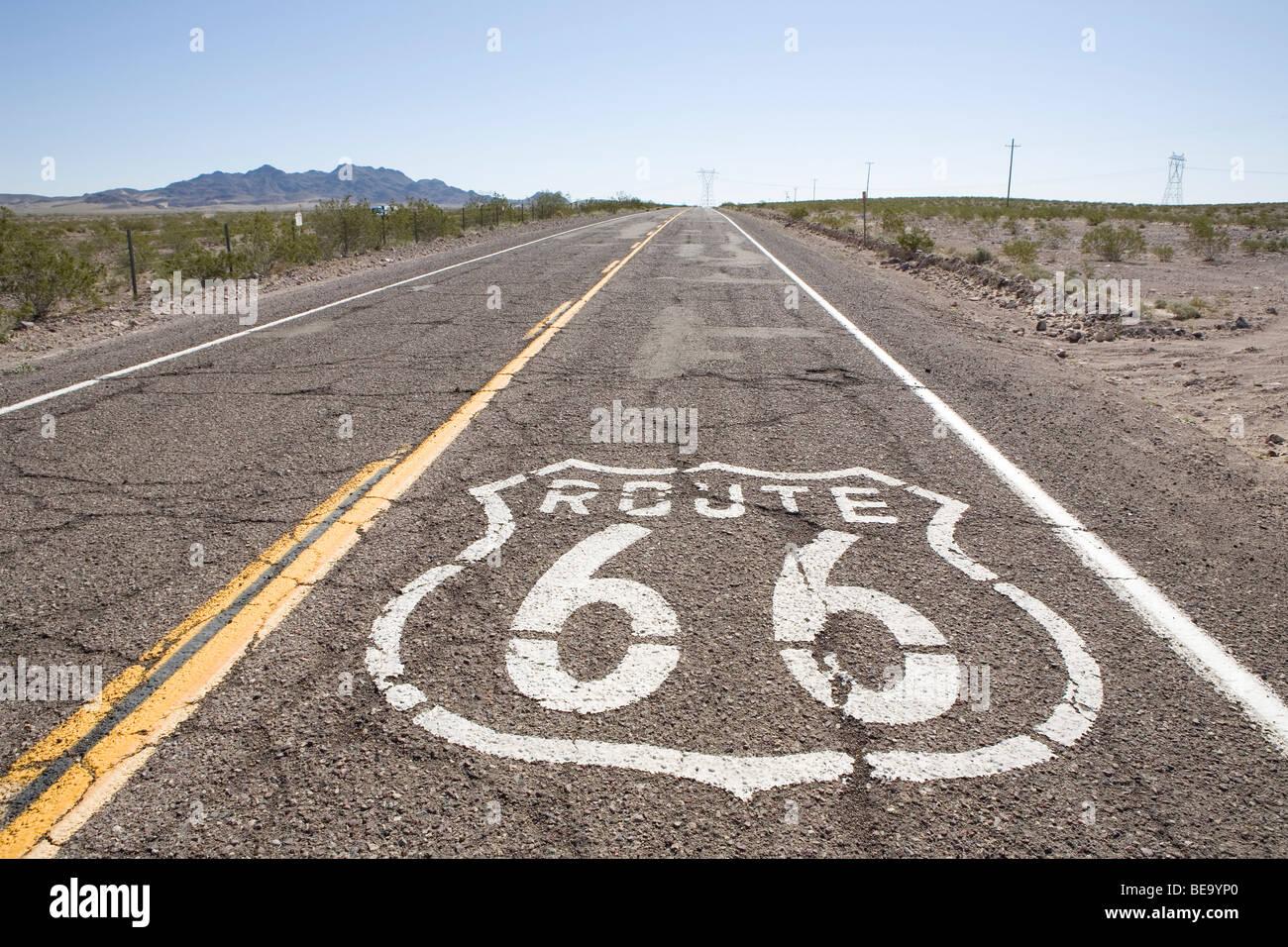 California Road Trip - Stock Image