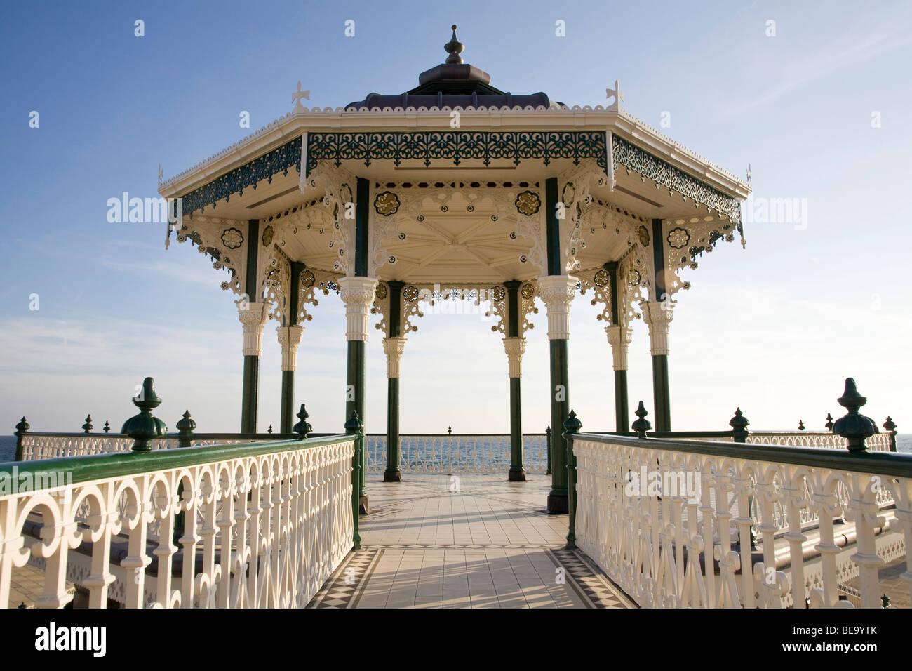 Brighton band stand, newly refurbished. - Stock Image
