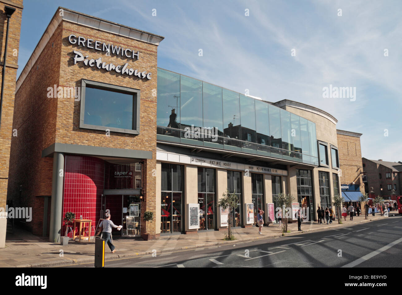 The Greenwich Picturehouse cinema on Greenwich High Road, London, UK. - Stock Image