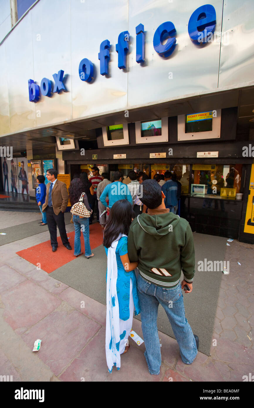 Indian movie theater in delhi india stock photo 26035647 alamy indian movie theater in delhi india altavistaventures Images