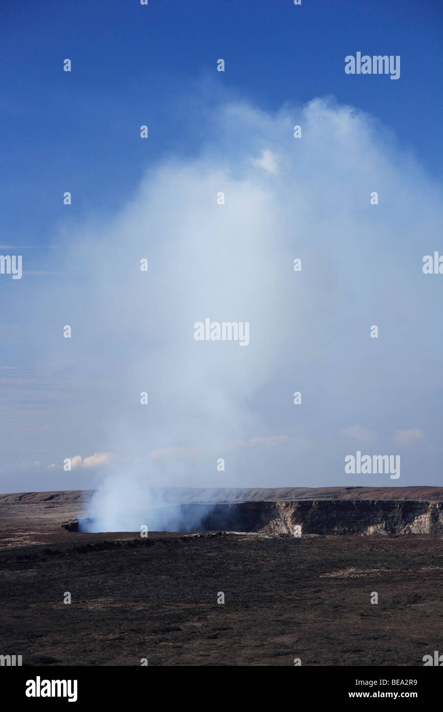 Halemaumau Crater - Stock Image