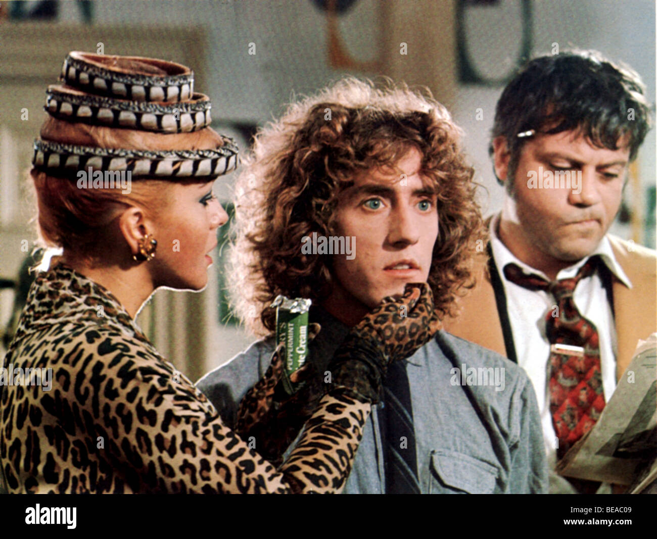 TOMMY  - 1975 Hemdale film with from left: Ann-Margret, Roger Daltry and Oliver Reed - Stock Image