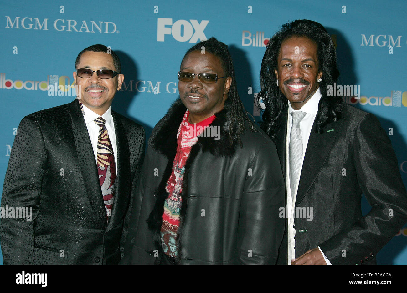EARTH, WIND & FIRE - US rock group about 1990. Photo Jeffrey Mayer - Stock Image