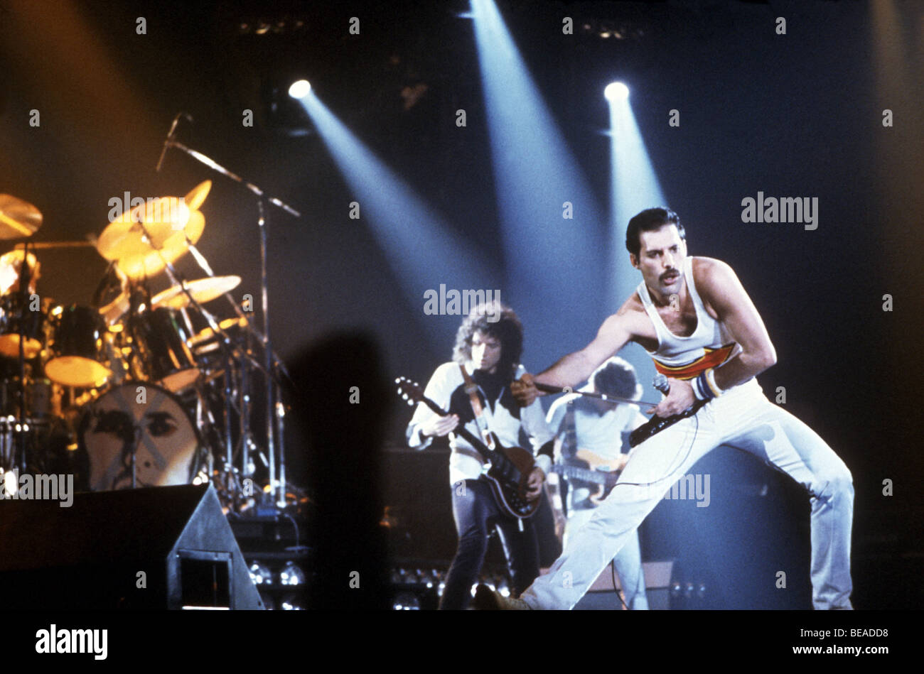 QUEEN - UK rock group about 1985 - Stock Image