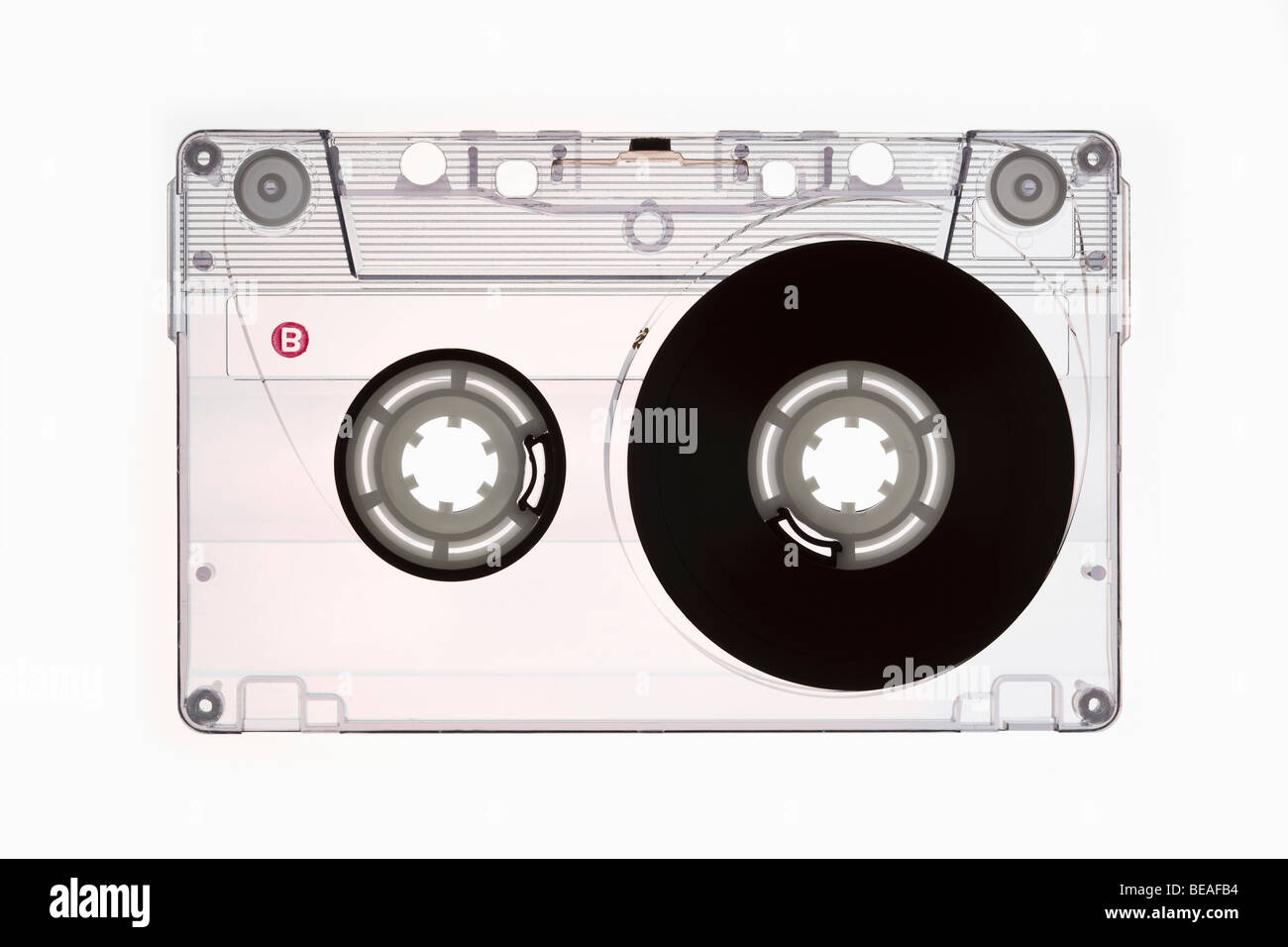 A cassette tape - Stock Image