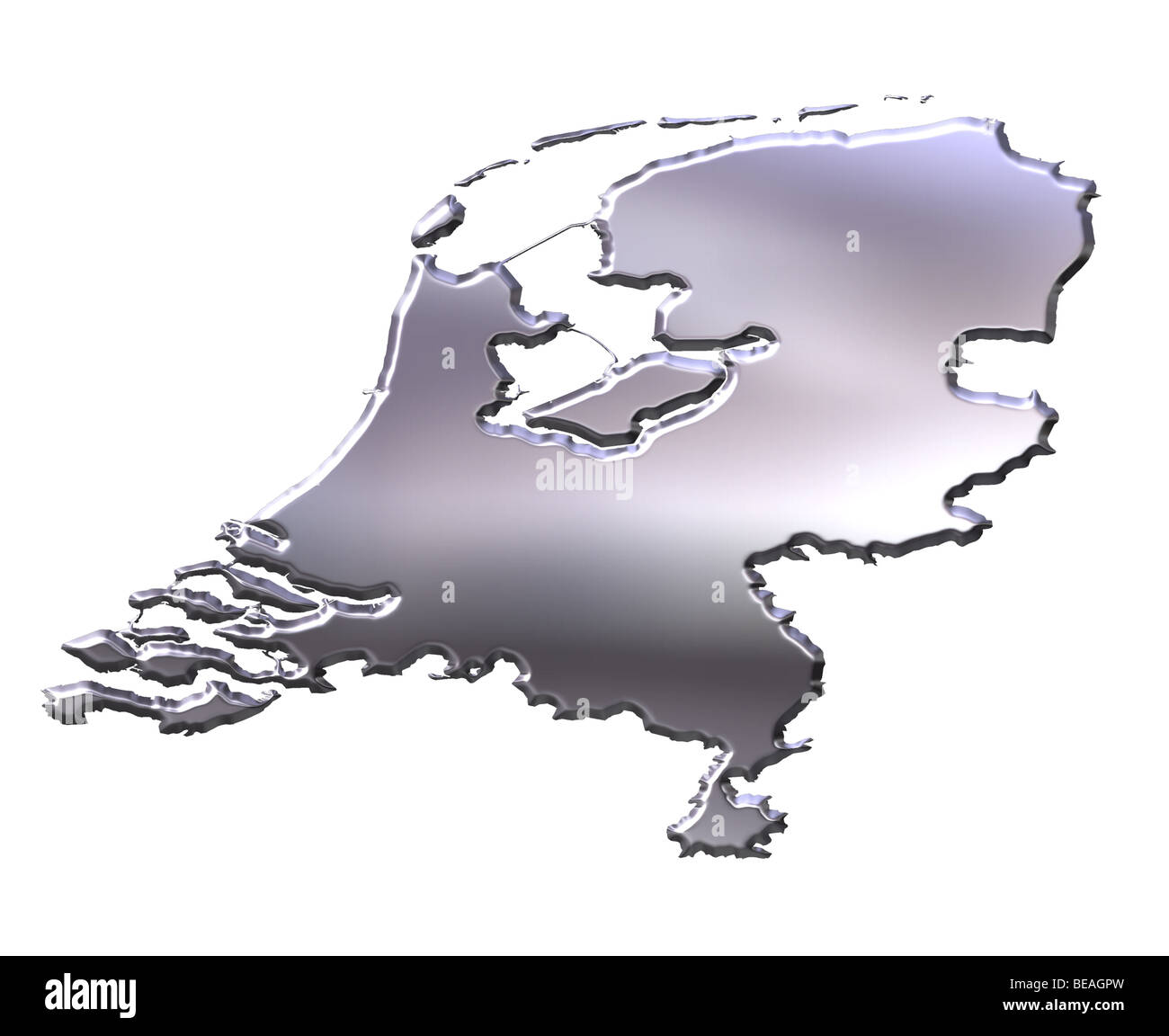 Holland Country Map High Resolution Stock Photography And Images Alamy
