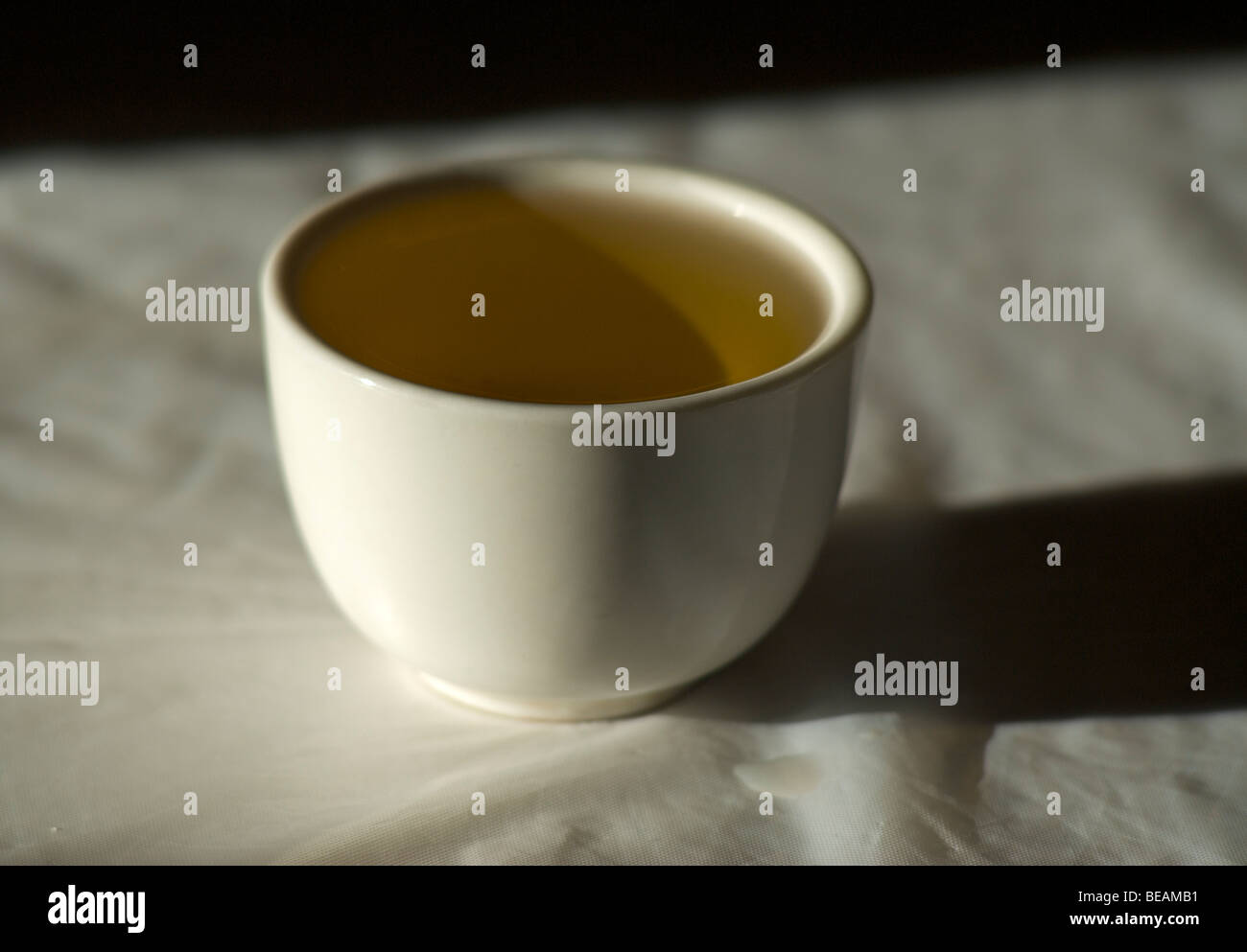 Tea in a cup. China - Stock Image