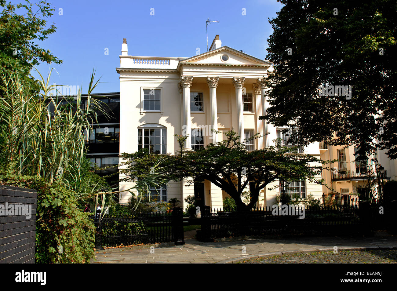 Hayward House, The Royal College of Physicians, London, England, UK - Stock Image
