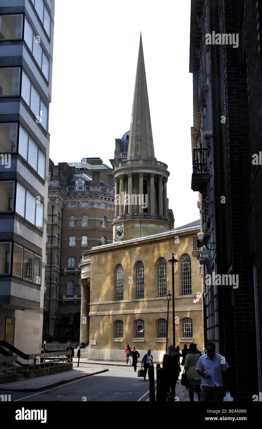 All Souls Church Langham Place, London, England, UK Stock Photo