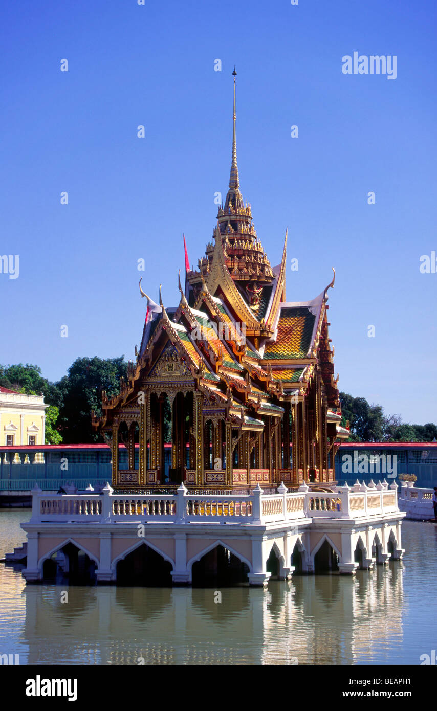 'Bang Pa in' Ayutthaya province. A summer palace of the King of Thailand S. E. Asia - Stock Image