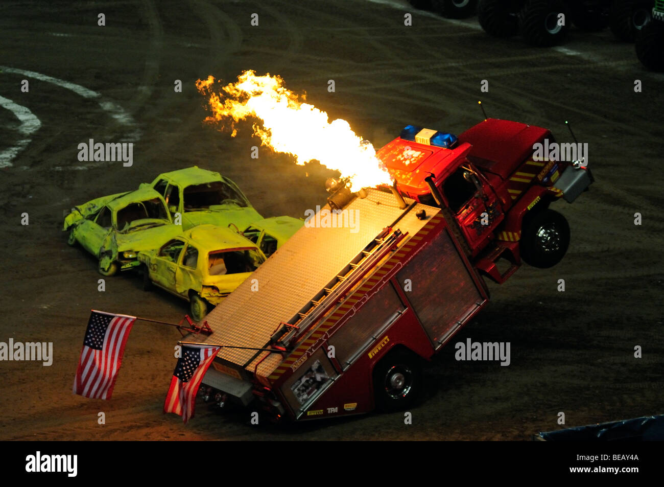 Monster Truck Driver High Resolution Stock Photography And Images Alamy