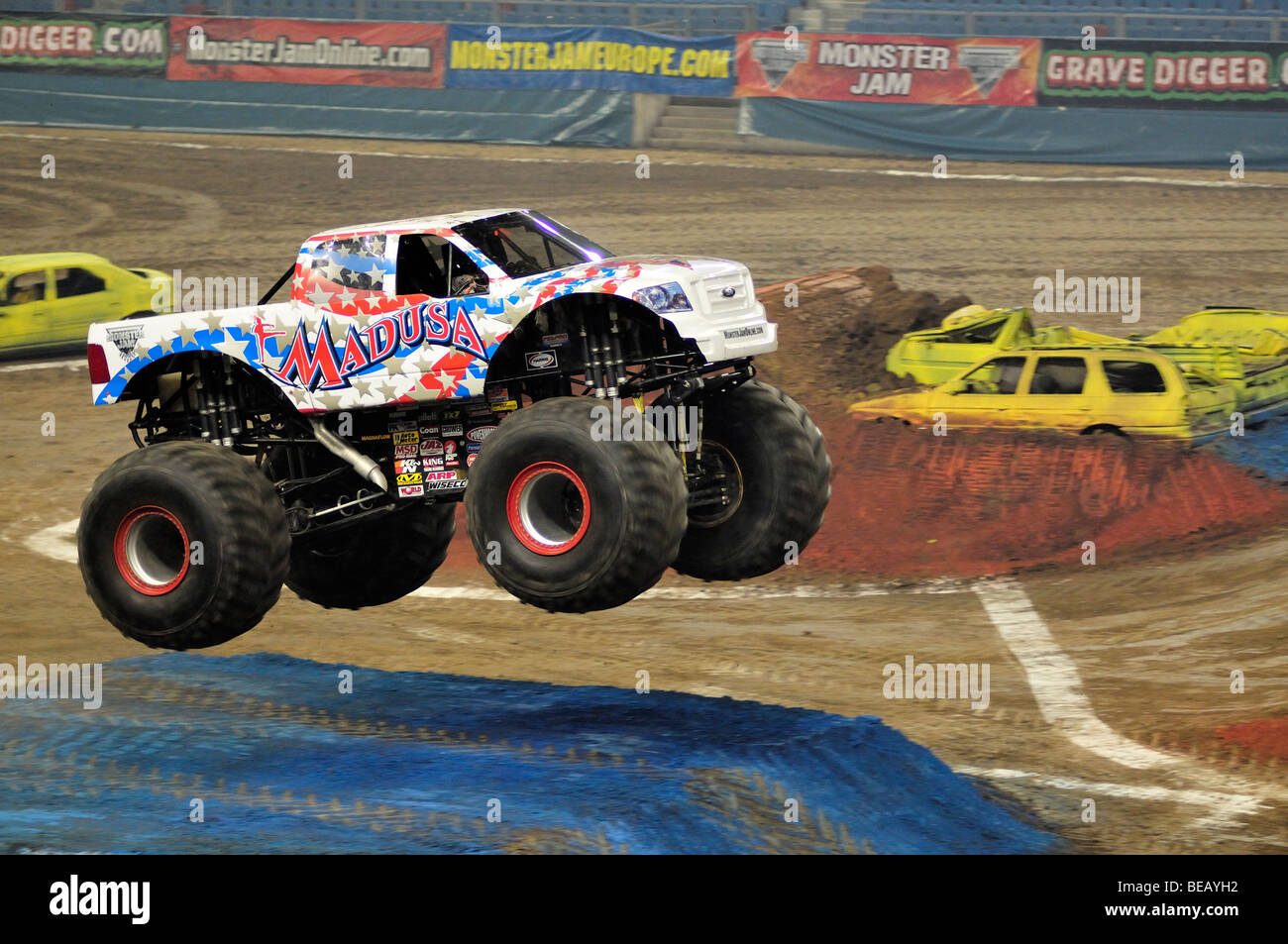 Monster Jam Madusa Stock Photo Alamy