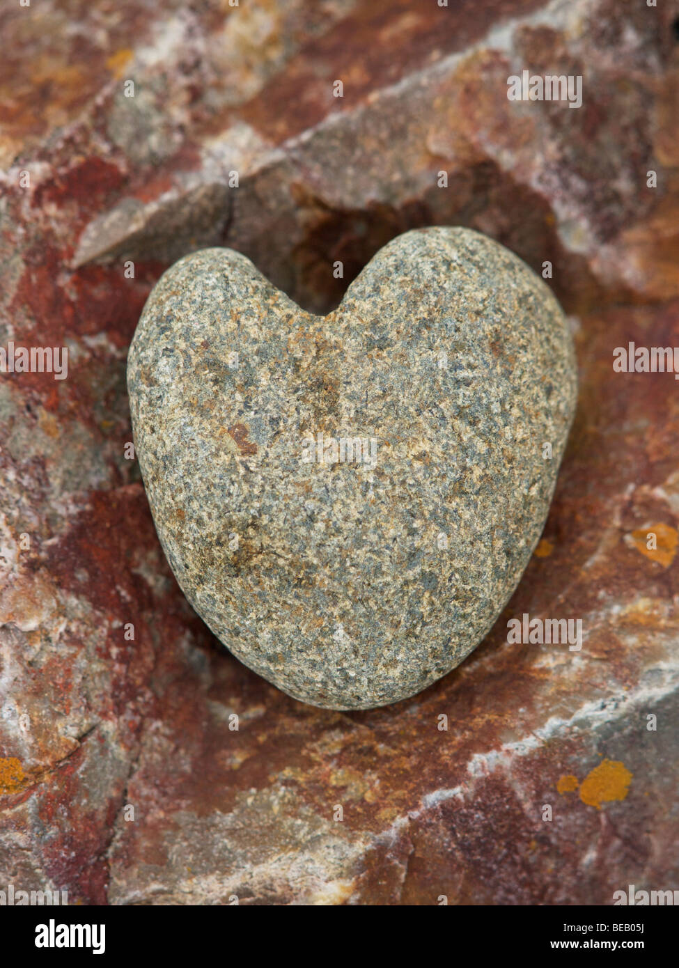 Heart of stone - Stock Image