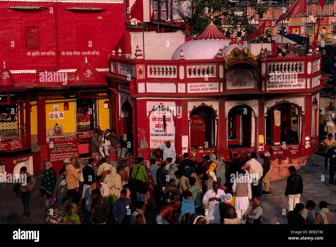 india, uttarakhand, haridwar - Stock Image