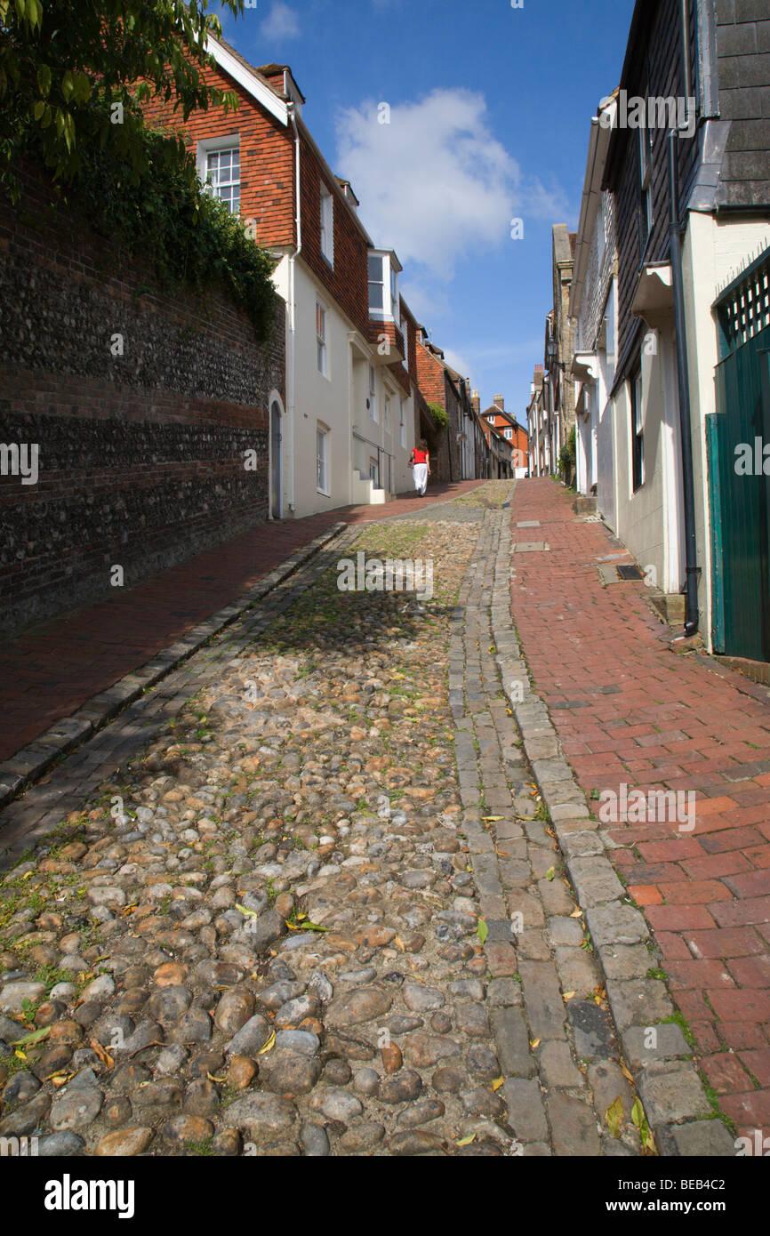 """Keere Street"", Lewes, Sussex, England, UK. Stock Photo"