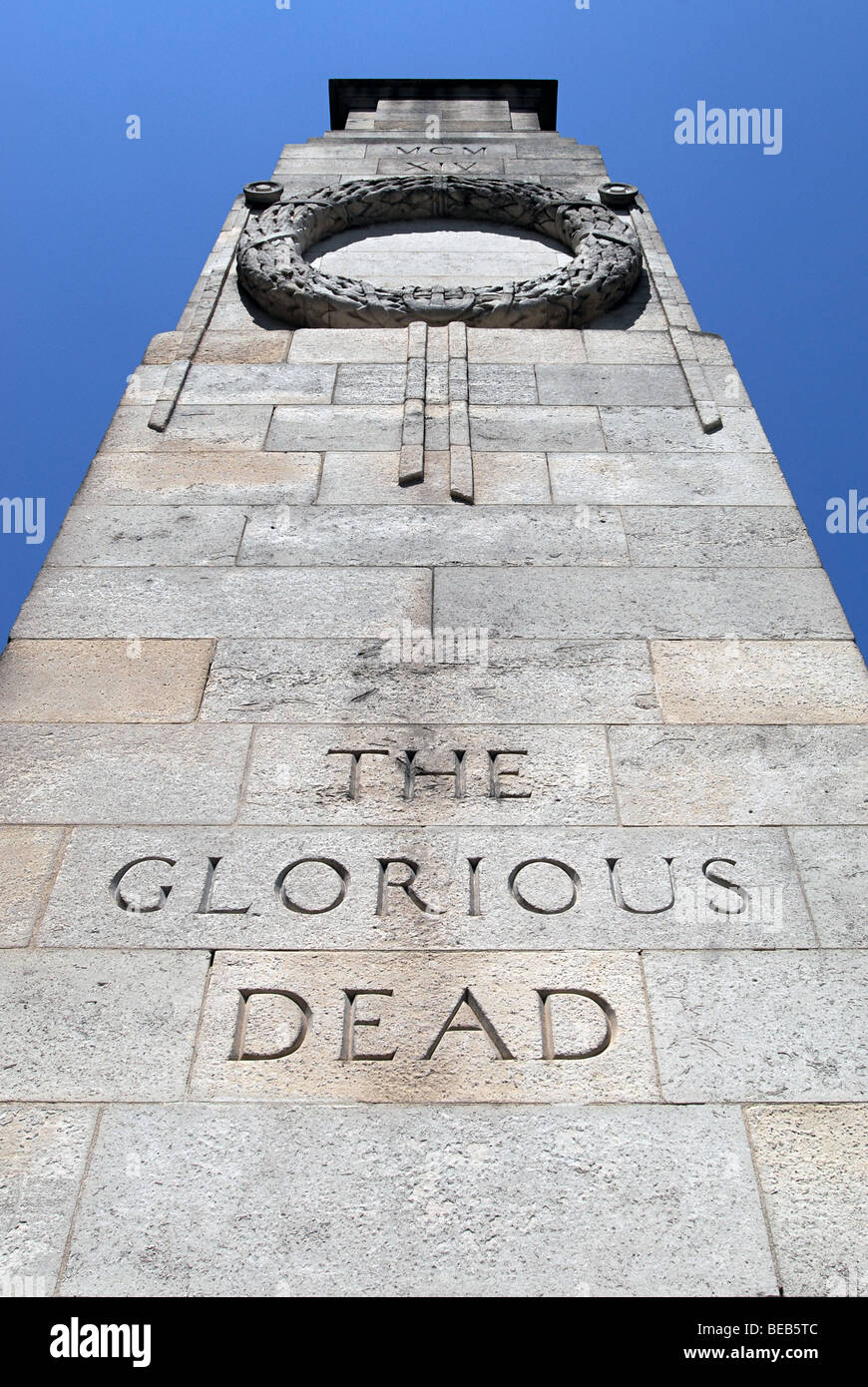 The Glorious Dead Monument, London - Stock Image