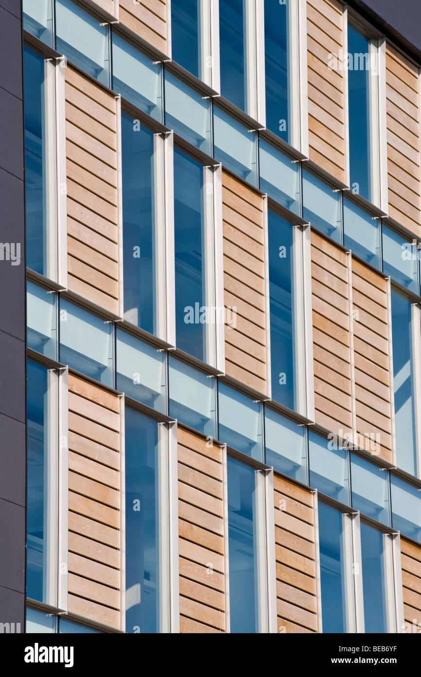 Timber cladding stock photos timber cladding stock for Window cladding