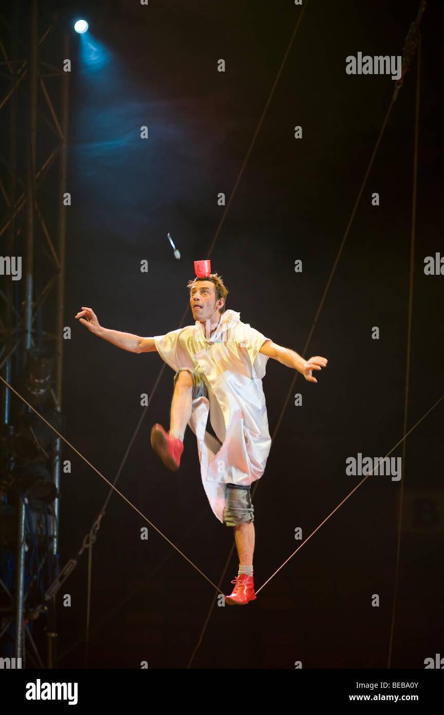 Moscow state Circus in Edinburgh, Scotland, UK - Stock Image
