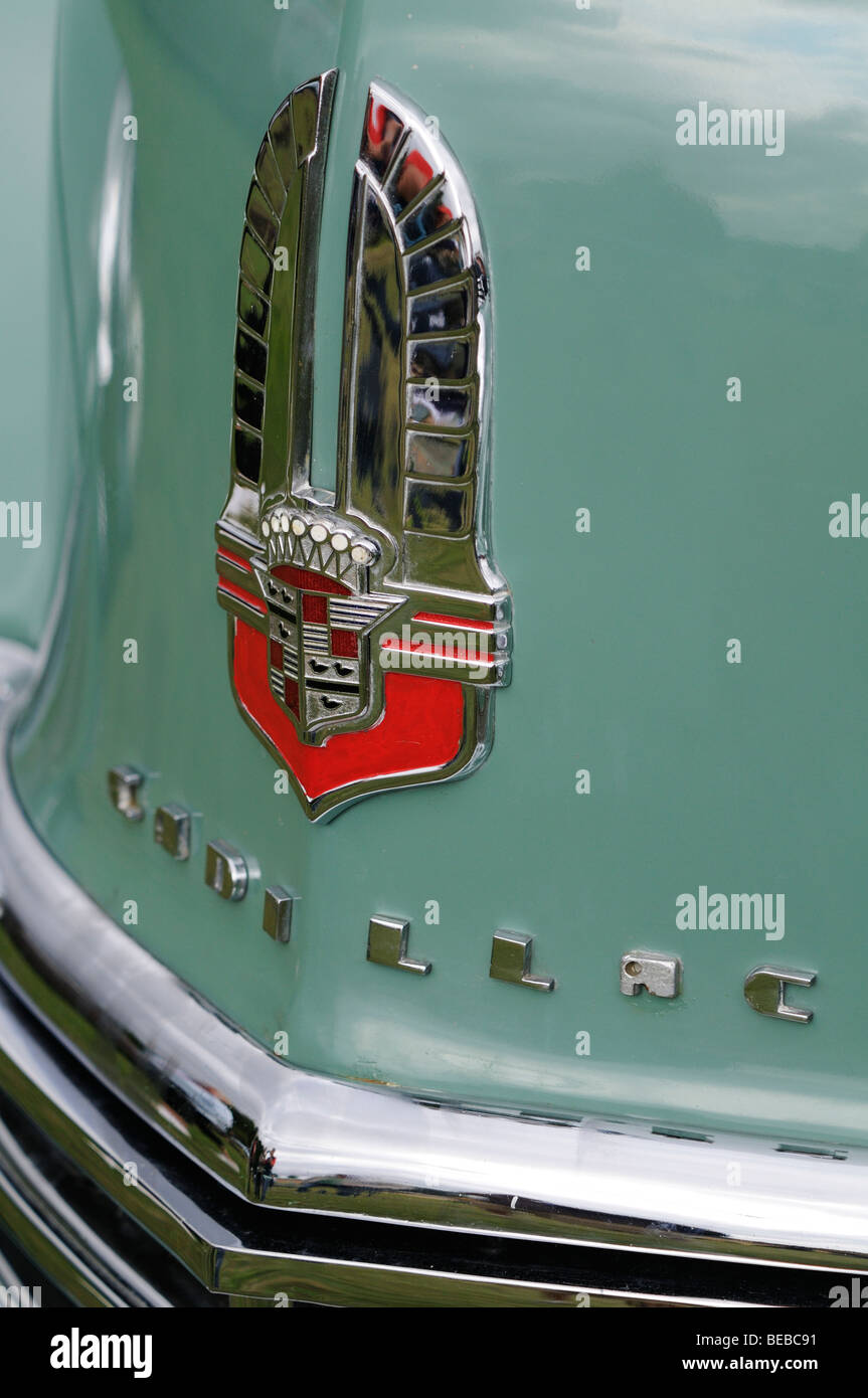 Cadillac Logo Badge Emblem Stock Photos