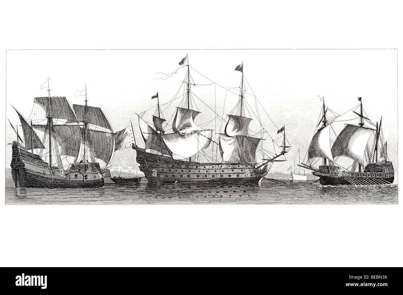 16th century spanish ship stock photos 16th century spanish ship french vessel of the 16th century spanish ship of war soleil royal stock image publicscrutiny Choice Image