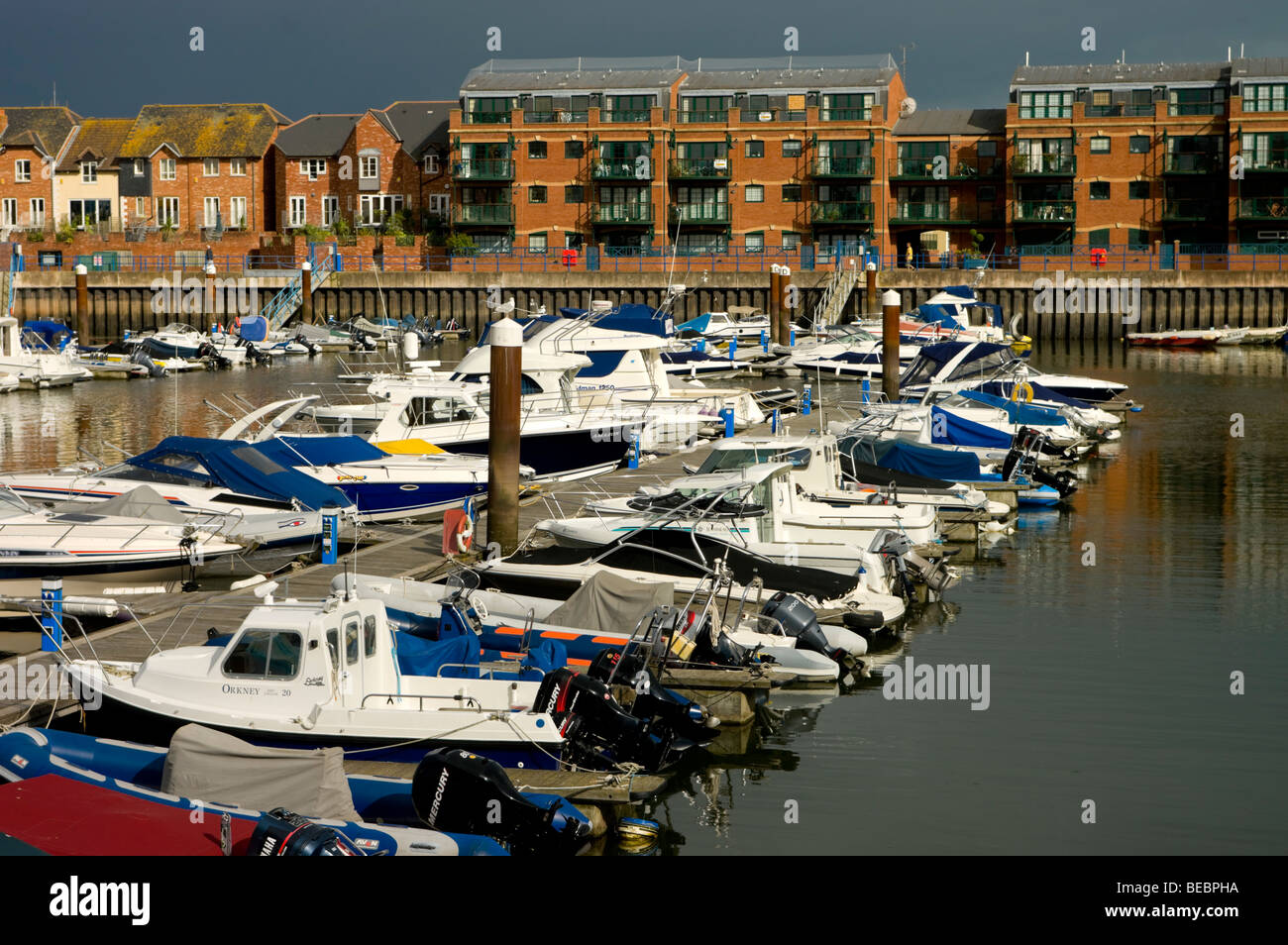 europe, uk, england, devon, Exmouth - Stock Image