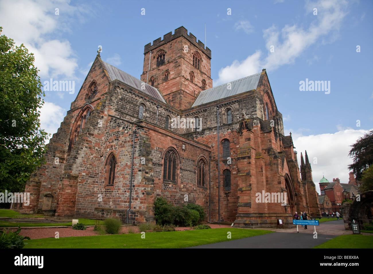 Carlisle Cathedral, Cumbria - Stock Image